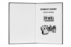 Lathe SV 18-R Operator's Instruction Manual